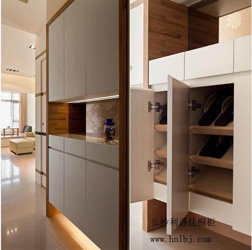 家庭装修——-玄关鞋柜设计