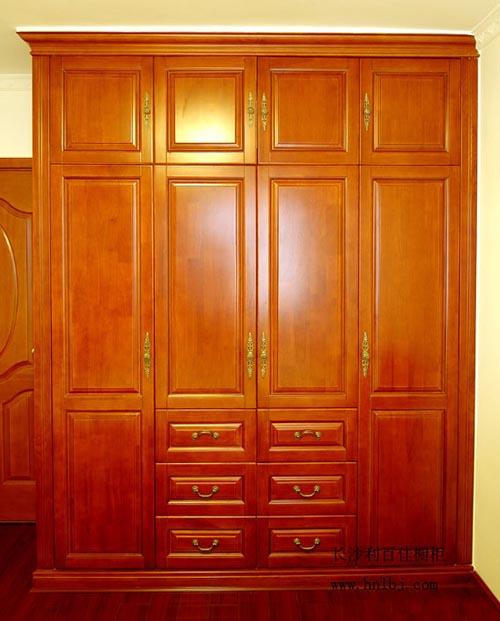 中式衣柜设计方案——文化站整体衣柜定制案例