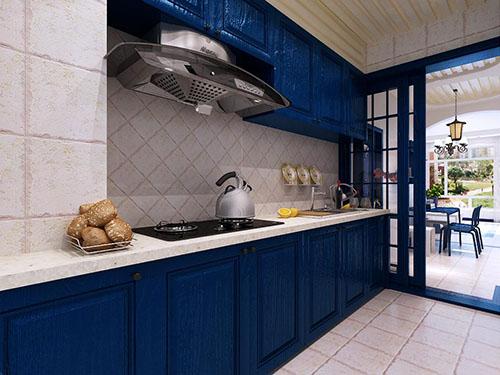 原木橱柜——不同风格厨房轻松演绎