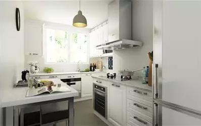 整体橱柜完美布局 厨房多大 都合适