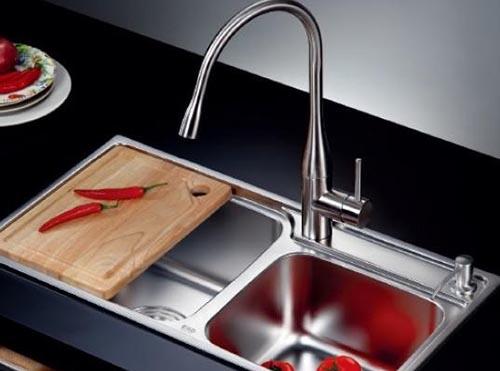 厨房装修 水龙头的选择很重要
