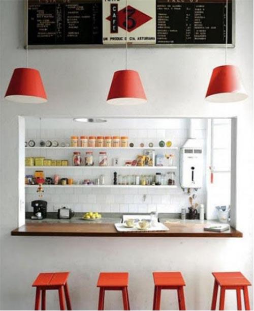 厨房里的休闲吧——厨房吧台