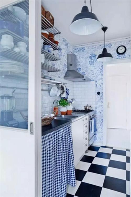 小而美的厨房设计借鉴