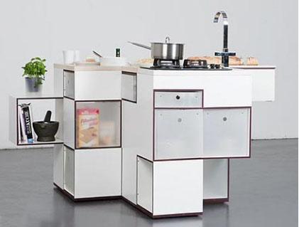 你一定没见过的超小型厨房设计
