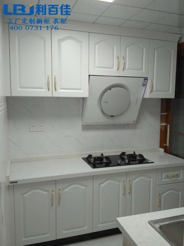 厨房小怎么装?这个双一字型整体橱柜定制肯定适合你