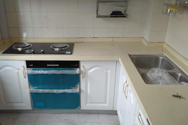长沙利百佳橱柜品牌∣恒达花园模压橱柜旧厨房改造案例分享