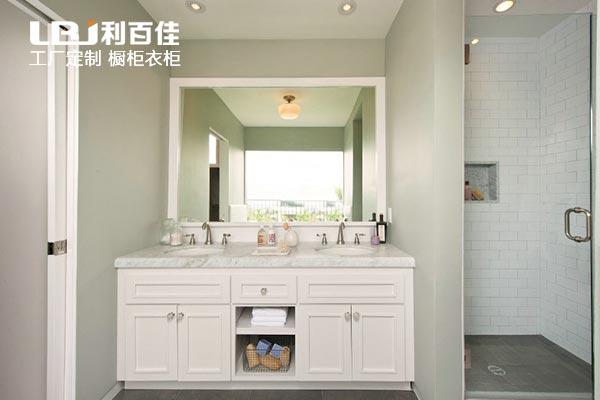 浴室选用石材卫浴柜,好处真的很多!