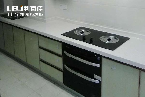 长沙利百佳橱柜品牌︱鑫远和城晶钢橱柜定制案例分享