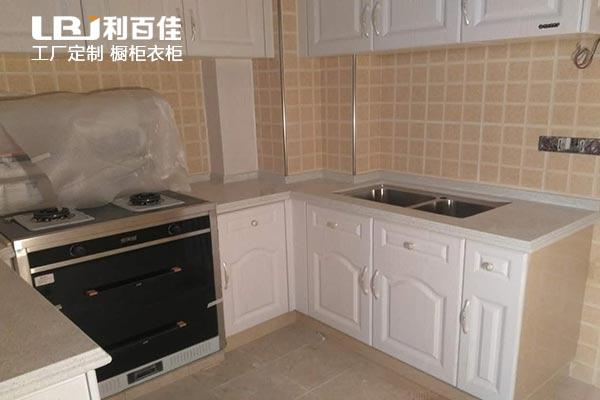 利百佳橱柜品牌丨万国城定制模压整体橱柜卫浴柜案例分享