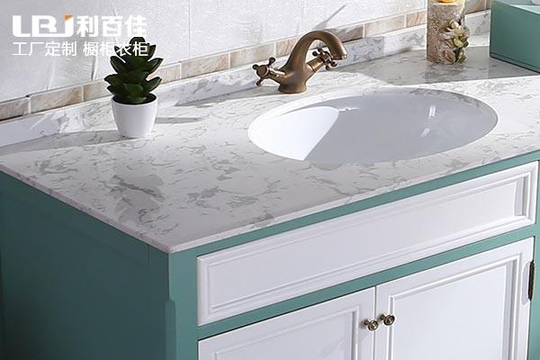 你家的浴室可以换一个石材卫浴柜了!