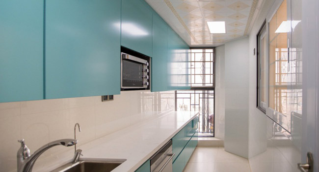 厨房整体橱柜/4大设计风格,让家就是与众不同