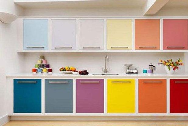 整体橱柜的颜色搭配