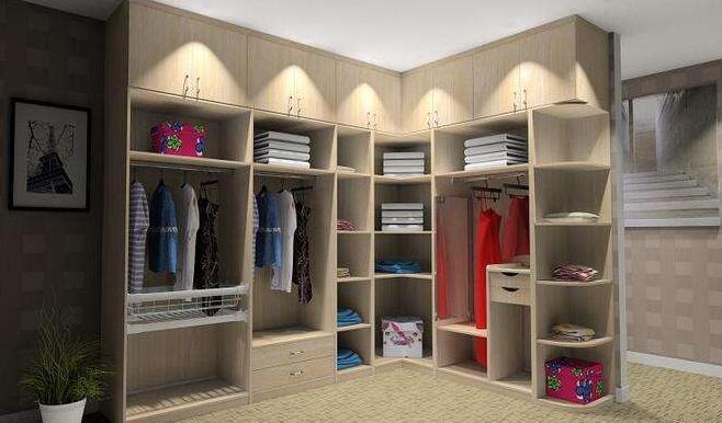 定制衣柜的样式选择