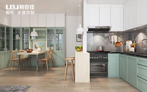 长沙公寓房厨房装修实例,清新简约风很温馨
