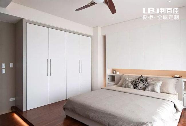 入墙式整体衣柜不仅仅空间利用率高,颜值更高