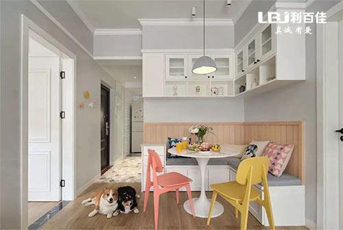 北欧风的橱柜+家居柜子定制,精致透着优雅