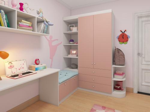儿童定做衣柜有何要求?怎样的整体衣柜更受儿童喜爱?