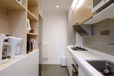 二手房厨房橱柜翻新,选择利百佳就是省心!