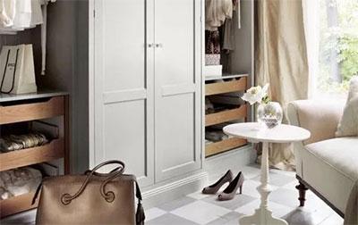 小户型也可以轻松定制一个衣帽间衣柜
