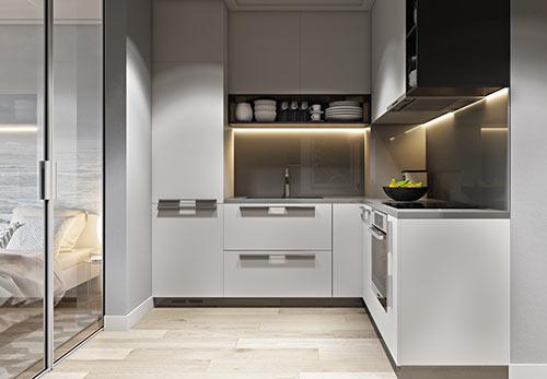 做好厨房空间规划,轻松解决小厨房凌乱问题