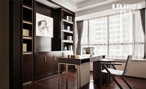 新中式茶室装修,展示收纳柜这样定制,真的好看