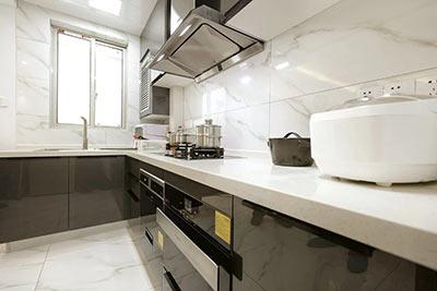 整体橱柜嵌入式厨电解决小空间收纳