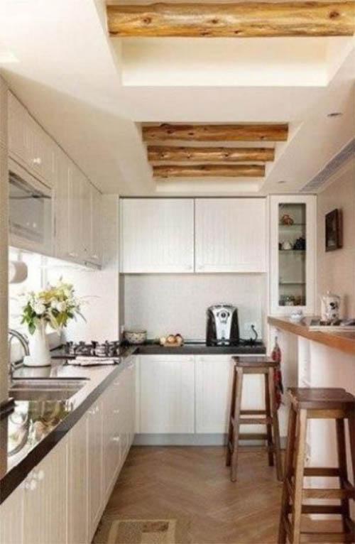 带吧台的厨房——让生活更富有情趣图片