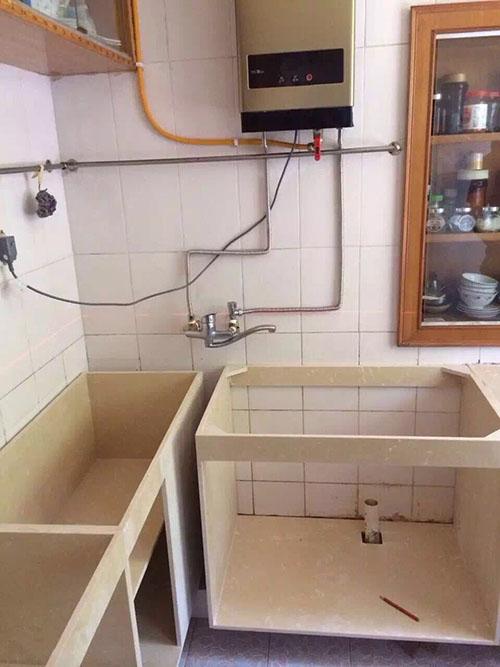 防水橱柜石材柜体