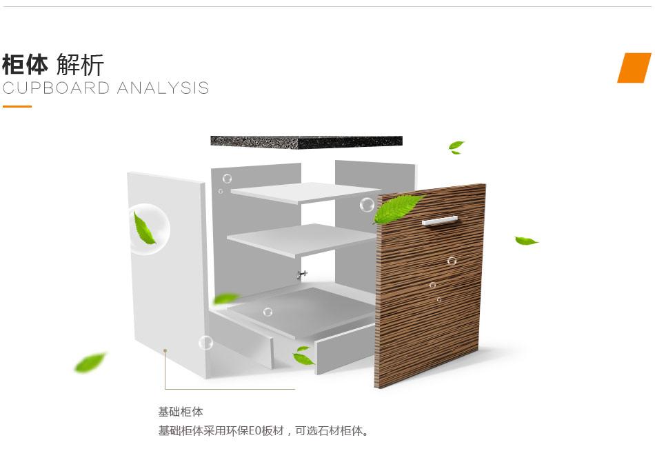 利百佳橱柜柜体结构
